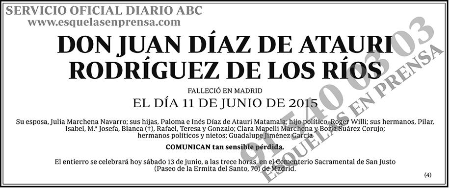 Juan Díaz de Atauri Rodríguez de los Ríos
